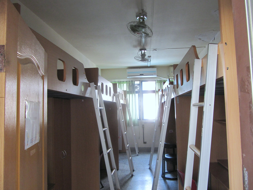 6-person dormitory room for female students